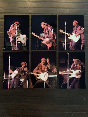"JIMI HENDRIX 6 PHOTOS FROM THE FORUM, April 26, 1969! Size: 4""x6"". Rare lot! for Sale in La Habra, CA"