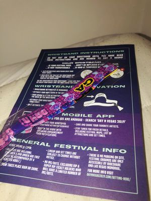 daynvegas 3 day ticket! for Sale in Fontana, CA