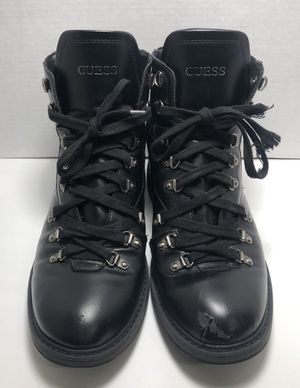 Guess Black Boots - US Men Size 11 for Sale in Los Angeles, CA