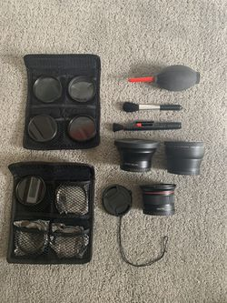 58mm Altura photo accessory kit for Canon EOS Rebel DSLR for Sale in North Bend,  WA