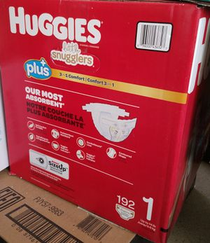 Huggies little snugglers 192 count for Sale in Los Angeles, CA