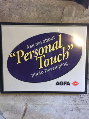 AGFA Vintage Light Sign for Sale in Kensington, CA