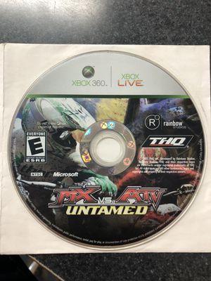 Xbox 360 MX Vs ATV Untamed Game for Sale in Preston, CT