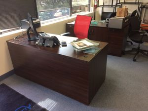 Set of 2 desk combo for Sale in Chantilly, VA