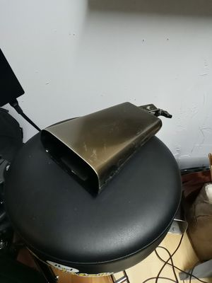 Pearl Bongo bell Marc Quiñones cowbell for Sale in Miami, FL