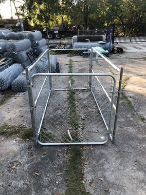 Dog Kennel 4ft Tall x 4ft Wide x 9ft Long for Sale in Houston, TX