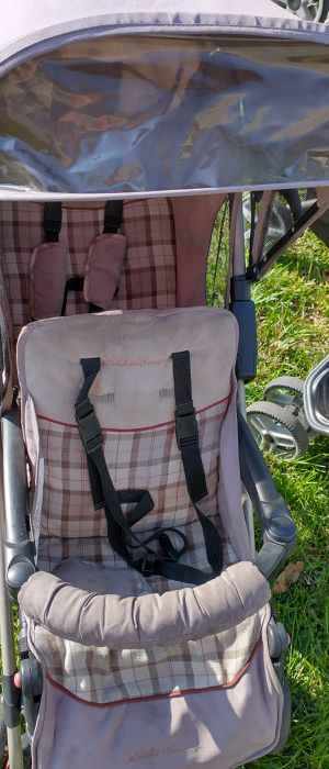 Eddie bauer double stroller carriola doble carreola barato cheap for Sale in Irving, TX