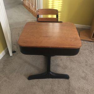 School Desk Vintage for Sale in Bowie, MD