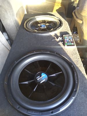 2 planet audio shallow subwoofers 12s 1000watts each for Sale in Huntington Park, CA