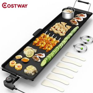 Electric Teppanyaki Table Top Grill Griddle BBQ Barbecue Nonstick Camping for Sale in Walnut, CA