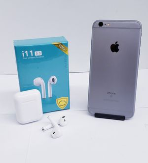 Buy iPhone 6S plus and get a FREE wierless headset for Sale in Dallas, TX