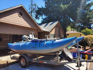 16 foot cataraft for sale for Sale in Wilsonville, OR