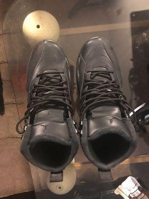 New Clean Jordan Retro 12s All Black for Sale in Chicago, IL