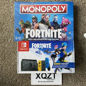 Nintendo Switch Fortnite Edition With Free Gift for Sale in Wenatchee, WA
