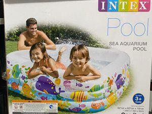 Sea aquarium pool intex 621/2inx621/2inx191/2in for Sale in San Bernardino, CA