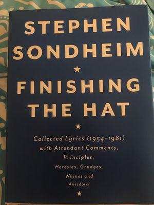 Stephen Sondheim - Finishing the Hat for Sale in Chicago, IL