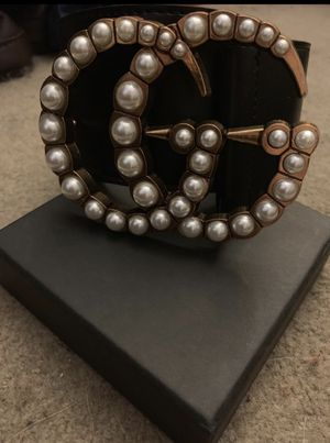 Gucci Belt Pearl Buckle for Sale in Durham, NC