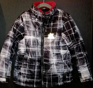 Zero Xposur Black White Marble Kids Puffer Zip Up Jacket for Sale in Chula Vista, CA