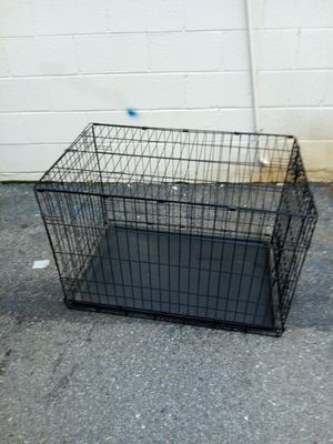 Large folding dog cage for Sale in Hyattsville, MD