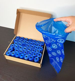 """New, $10 Dog Waste Bags Pet Poop Disposal Bag Size (9""""x14""""), Total Count (630 pcs) for Sale in Whittier, CA"""