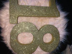 18 glitter decor for Sale in San Luis Obispo, CA