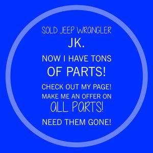 Jeep Wrangler JK Parts for Sale in Chandler, AZ