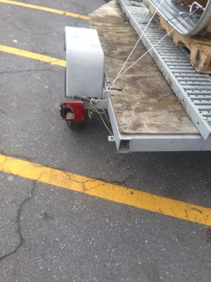 Trailer, motorcycle or utility, galvanized metal won't rust, tittle I. Hand $1000 for Sale in Alexandria, VA