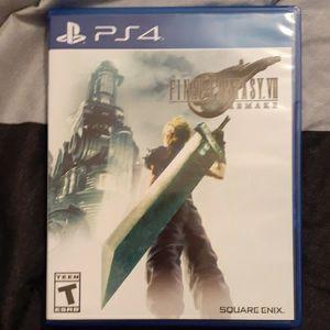Final Fantasy VII Remake - PS4 for Sale in Homestead, FL