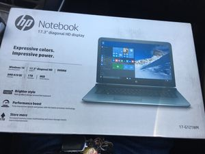 "Hp notebook 17.3"" amd a10 QC 1TB. 8gb RAM for Sale in Upland, CA"