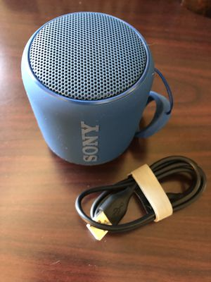 Sony XB10 Portable Bluetooth Wireless Rechargeable Speaker for Sale in Durham, NC