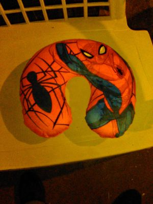 Spiderman neck pillow for Sale in Imperial, MO