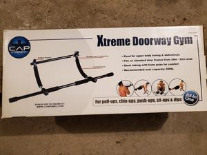 Cap Strength xtreme doorway gym and pull up bar for Sale in Broadview Heights, OH