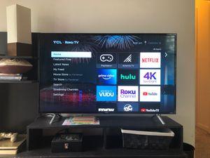 55 inch TLC 4K smart TV for Sale in Reston, VA