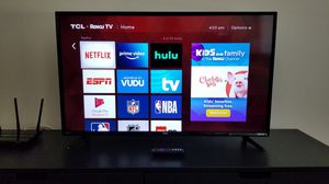 """TCL 43"""" Roku HD TV for Sale in San Mateo, CA"""