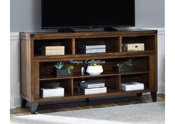 New TV Stand for TVs up to 75 inch TVs, Brown, SKU# ASHW765-68TC for Sale in Santa Fe Springs,  CA