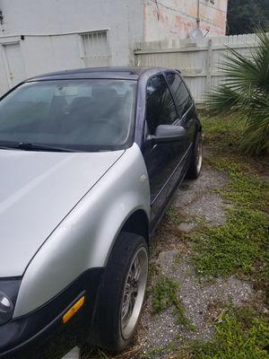2001 Volkswagen golf hatchback 2 door for Sale in Okeechobee, FL