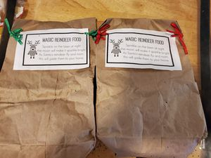Reindeer food $2.50 per bag for Sale in Appomattox, VA
