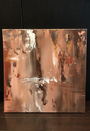 """Neutral painting 20x20"""" for Sale in Columbus, OH"""
