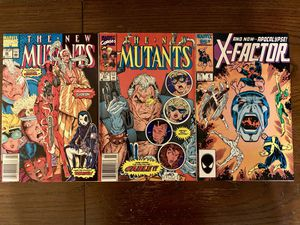 New Mutants 87 and 98. X-Factor 6. for Sale in El Monte, CA