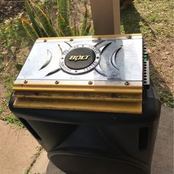 Speaker, amp & equalizer for Sale in Pasadena,  TX