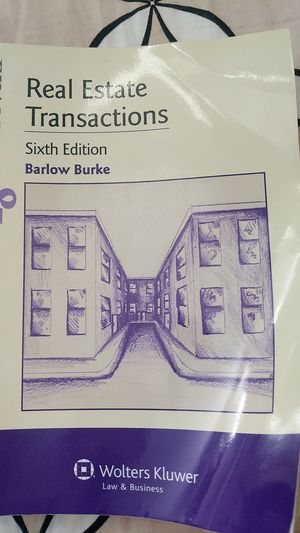 Real estate transaction 6th edition for Sale in Fort Lee, NJ