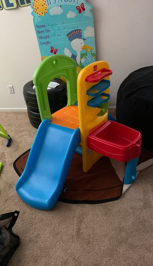 Kids place slide activity play toy sensory toddler for Sale in Oceanside, CA