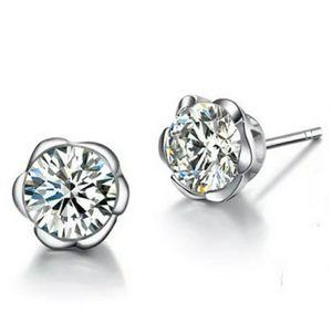 6mm Stud earrings 925 sterling silver beautiful gift for Sale in Aurora, IL