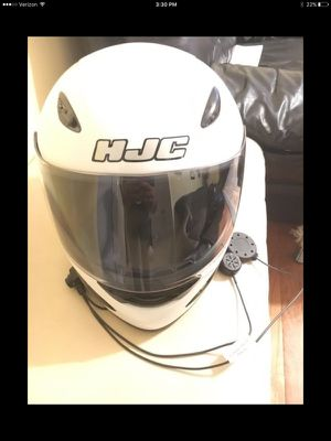 HJC XL Motorcycle Helmet for Sale in Fairfax, VA
