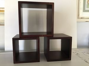 Wood box shelves for Sale in Huntington Beach, CA