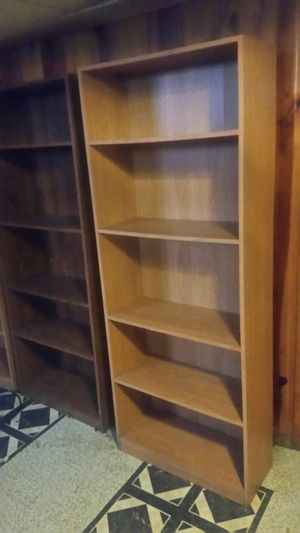 3 Wooden bookshelves for Sale in Detroit, MI