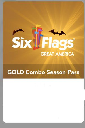 Six flags great America 2020 Gold Season pass for Sale in Barrington, IL