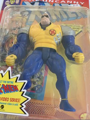 Toy Biz Marvel Comics The Uncanny X-Men Strong Guy Action Figure 1993 New for Sale in Ocoee, FL
