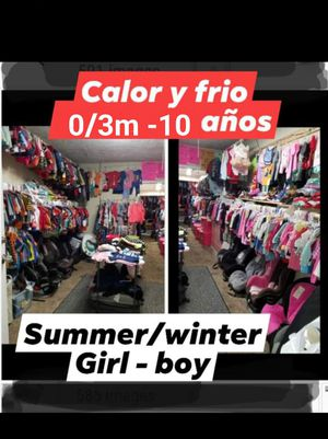 Kids clothes new/ nueva y usada/ used ropa girl boy for Sale in Houston, TX