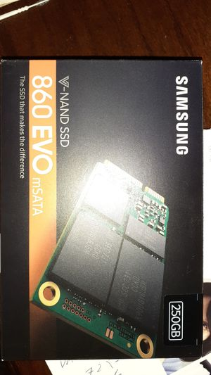 Samsung 860 evo mSata 250gb ssd hard drive for Sale in Las Vegas, NV
